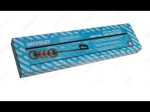 all-sun TS20 Ground search metal detector (металлоискатель) распаковка обзор