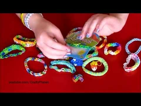CUTE TURTLE Rainbow Loom Rubber Band Haul – Rubber Band Bracelets, Rings, Charms, Designs Wal Mart