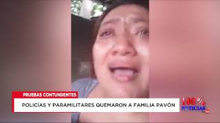 Video Evidencias contundentes prueban que policías y paramilitares quemaron a familia Pavón. MP3, 3GP, MP4, WEBM, AVI, FLV Maret 2019