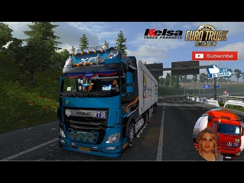 Kelsa Lightbars for DAF XF 105 & 106 v1.84