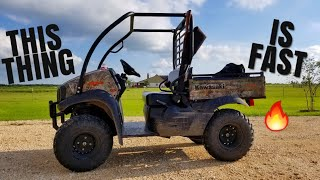 4. 2018 Kawasaki 4×4 Mule SX XC Review! On And Off Road!