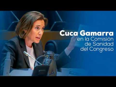 Cuca Gamarra exige al ministro de Sanidad anticipa...