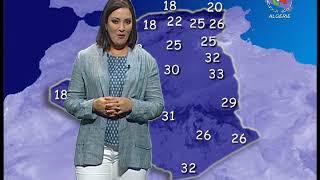 Retrouvez la météo du lundi 24 juin 2019 sur Canal Algérie