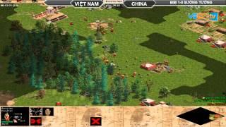 BiBi vs Sướng Tưởng  Random  30/7/2015   Trận 2, game đế chế, clip aoe, chim sẻ đi nắng, aoe 2015