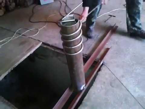 как согнуть нж трубу в спираль змеевик