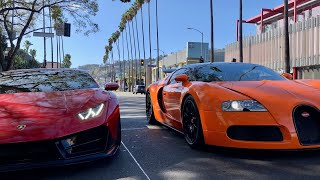 Video #RDBLA Running through LA with a Bugatti and Widebody Lambo! MP3, 3GP, MP4, WEBM, AVI, FLV Februari 2018