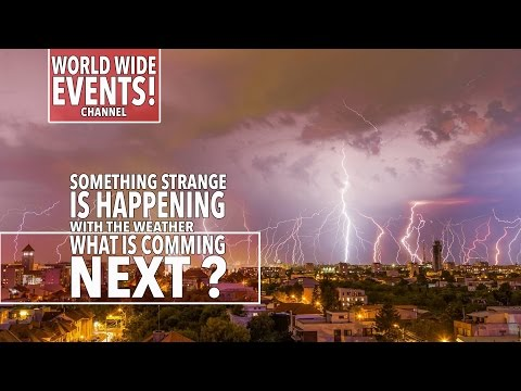 Extreme Weather events 2016.. Big disaster impending! climate change