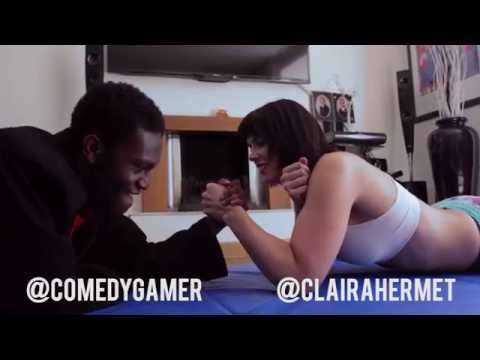 wrestling - GIRL vs BOY Wrestling video coming Thursday at 8pm Follow Me On Twitter: https://twitter.com/ClairaHermet Facebook: https://www.facebook.com/Clairahermet1 ▻The Boy - https://www.youtube.com/chann...