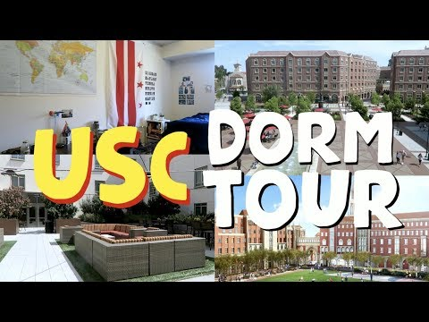 USC McCarthy Honors College Dorm Tour | University of Southern California