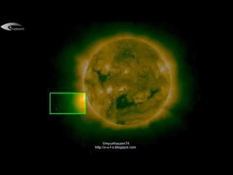 Aliens, UFOs and anomalies near the Sun – Review of NASA images of September 7, 2012.