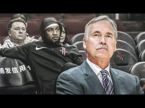 The Houston Rockets EXPOSE Carmelo Anthony!!!