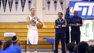 Alameda (CA) United States  City pictures : Steph Curry and the FIT Team Visit Alameda, CA