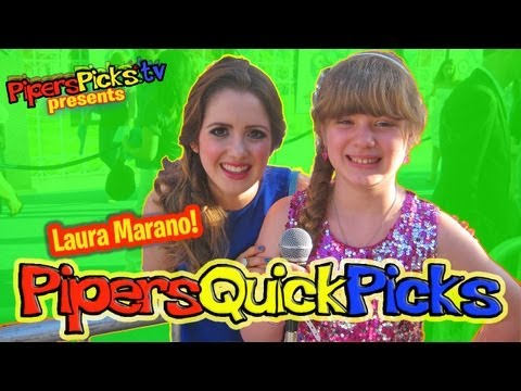 PQP #119: Laura Marano Talks about Austin & Ally Dating and Sings with Piper at Monsters University!