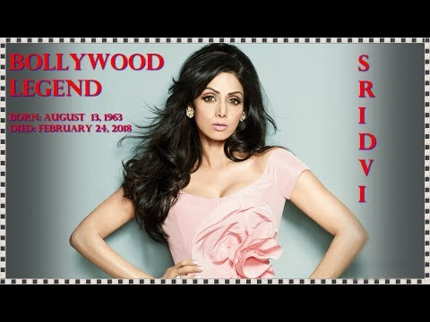 Breaking News !! Bollywood Actress Sridevi is died By Heart Attack in Dubai ...