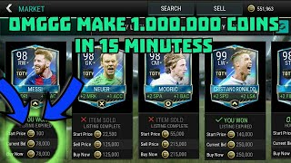 Video FIFA MOBILE- BEST SNIPPING FILTERS EVER, MAKE 100 MILLIONS IN UNDER 30 MINUTES MP3, 3GP, MP4, WEBM, AVI, FLV Agustus 2017