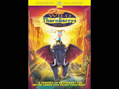 Opening to The Wild Thornberrys Movie DVD (2003, Widescreen Version)