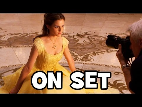 Behind The Scenes On BEAUTY AND THE BEAST (2017) - Movie B-Roll & Bloopers