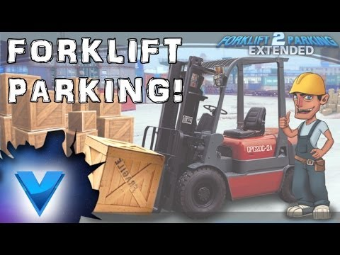 Video of 3D forklift parking Madness