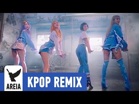 Video EXID - Night Rather Than Day | Areia Kpop Remix #275 download in MP3, 3GP, MP4, WEBM, AVI, FLV January 2017