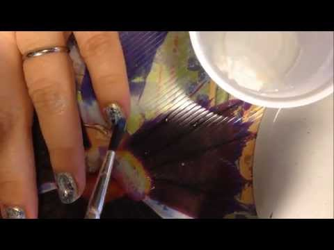 nail art - easy watermarble