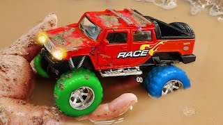 Download Video Fine Toys Construction Vehicles Looking for underground car   Toys for kids MP3 3GP MP4