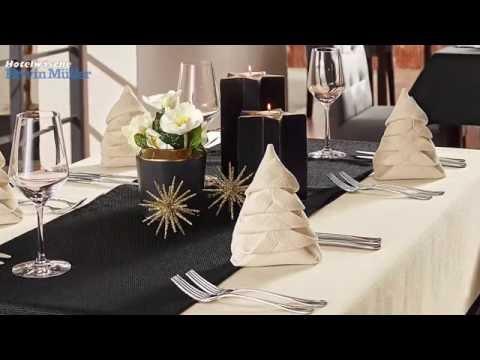 Download Depot Styles Goldene Tischdeko Zu Weihnachten Mp4 3gp