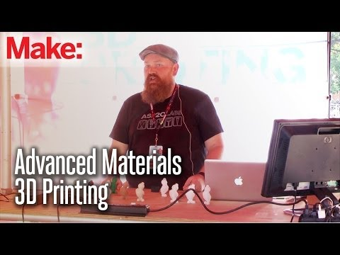 3D - 3D Printing Providence leader Matt Stultz gives the lowdown on a variety of some of the new and exciting advanced 3D printing materials and their uses. The r...
