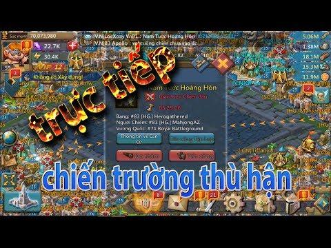 [trực tiếp] chiến trường thù hận trong game lords mobile việt nam