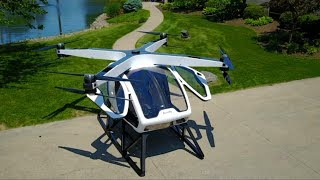 Ohio-based electric vehicle manufacturer Workhorse has unveiled ambitious plans to reinvent personal transportation with the SureFly octocopter. Subscribe here: https://goo.gl/GHXtS1Follow us on Twitter: @boomlive_inLike us on: facebook.com/boomnews