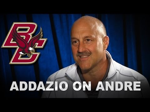 BC's Steve Addazio on Andre Williams Drafted By Giants