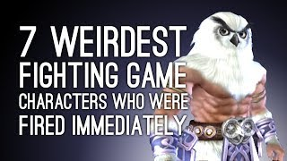 Once a fighting game character makes their debut, they usually stick around in that series. But some characters prove to be so weird, unpopular or tangled in licensing issues they make one appearance and are never seen again. Here are our fave fighting game characters who were never invited back for round two.  Subscribe for more videos: http://www.tinyurl.com/SubToOxboxSoul Calibur 3's adorable owl-headed Olcadan makes the list, as does Dead or Alive 4's improbably canon Spartan Nicole-458, Tekken 3's tiny orange dinosaur Gon and Street Fighter 3's Necro. And who could forget Amingo, the cactus man from Marvel vs Capcom 2? Oh that's right, everybody. ---Outside Xbox brings you daily videos about videogames, especially Xbox One games and Xbox 360 games. Join us for new gameplay, original videos, previews, lists, Show of the Week and other things (ask us about the other things). Thanks for watching and be excellent to each other in the comments. Find us at http://www.outsidexbox.comSubscribe to us at http://www.youtube.com/outsidexbox Like us on Facebook at http://www.facebook.com/outsidexboxFollow us on Twitter at http://www.twitter.com/outsidexboxPut a t-shirt on your body http://www.outsidexbox.com/tshirts
