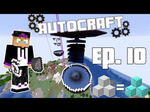 AutoCraft Season 1 Ep. 10: The Mob Farm and Shenanigans! (Minecraft 1.16)