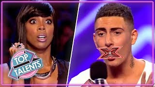 Rudest Auditions...EVER  X Factor Got Talent And Idols  Top Talents