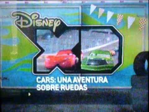 """Promo """"Cars: Una Aventura Sobre Ruedas"""" en Disney XD"""