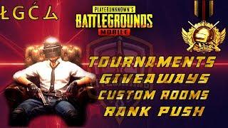 PUBG Mobile Pak/India - Custom Room - UC GiveAway - Tournaments - LIVE Gaming Pakistan