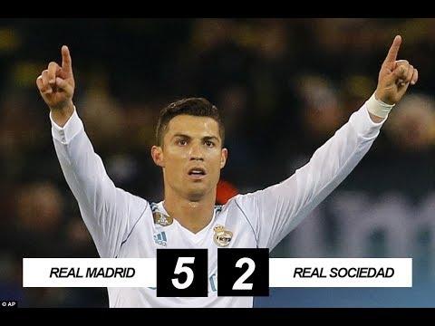 Real Madrid vs Real Sociedad 5-2 All Goals & Highlights 10/02/2018