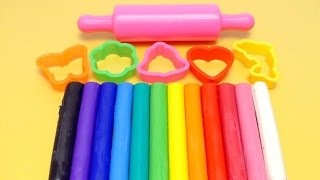 Video Learn Colors with RAINBOW Dough Clay - Molds & Shapes MP3, 3GP, MP4, WEBM, AVI, FLV Januari 2019