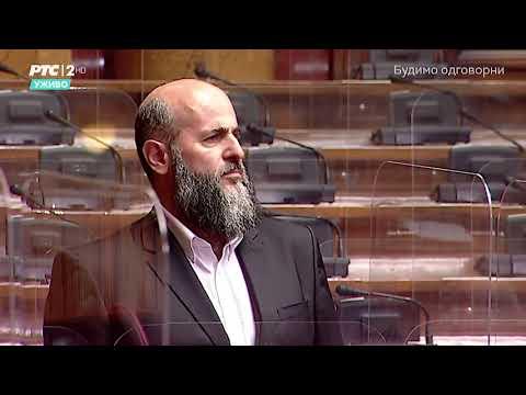 Obraćanje u Skupštini 11. 05. 2021. g. – Akademik Muamer Zukorlić