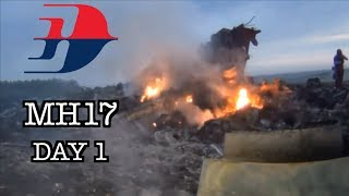 MH17 - 3 Weeks at the Crash Site