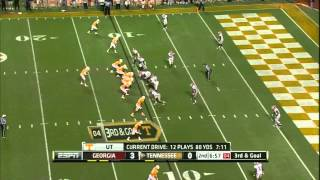 Tyler Bray vs Georgia (2011)