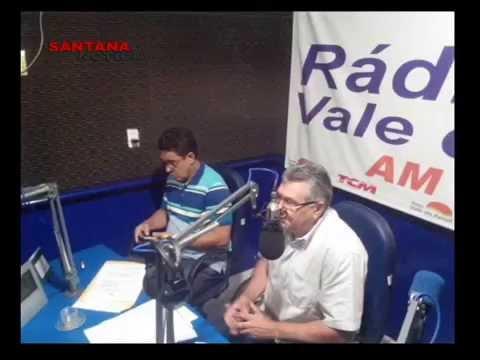 Prefeito de Felipe Guerra, Haroldo Ferreira, concedeu entrevista a rádio vale do Apodi