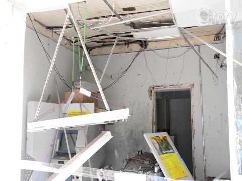 Bando explode caixa eletrônico no Banco do Brasil em Cambira