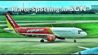 A quick plane spotting session at Tan Son Nhat International Airport!I seldom upload on weekdays, today is a special occasion partly because this video is shorter than usual.SUBSCRIBE for more videos!http://www.youtube.com/subscription_c...________________________15 September 2016Airlines featured in this video:VietJet AirJetstar AsiaQatar AirwaysAirAsiaEVA AirI only had less than 15 minutes in the transit terminal due to the long queues at the check in counters and immigration. The airport has a good place for plane spotting and I will arrive earlier when I visit in future!________________________Follow me on:Facebook › https://www.facebook.com/rva.aviationInstagram › https://www.instagram.com/flycruise_singaporeGoogle+ › https://www.google.com/+rva9495_____________________________________________
