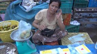 Attapeu Laos  city pictures gallery : Morning Market Attapeu, Laos