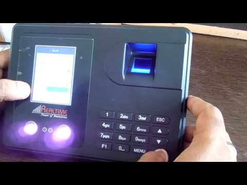 Realtime T302n Face Fingerprint Attendance System With