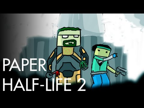 Paper Half-Life 2 Animated Short