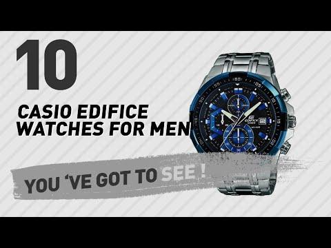 Casio Edifice Watches For Men Top 10 // New & Popular 2017 (видео)
