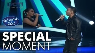 Video Maria menyanyi lagu daerah dengan Judika! - Spekta Show Top 10 - Indonesian Idol 2018 MP3, 3GP, MP4, WEBM, AVI, FLV November 2018