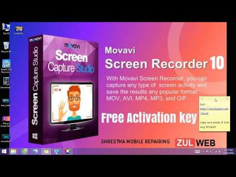 Movavi Screen 10 with activation key 2018 Free