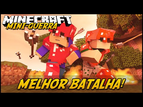 Minecraft: MINI-GUERRA - MELHOR BATALHA! (TazerCraft Mod) (видео)